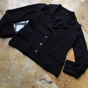 Le Lis Blanc Supersoft sweatshirt fitted jacket